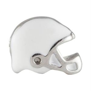 Picture of White Football Helmet Charm