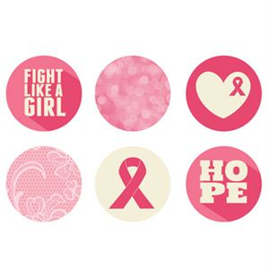 Picture of Breast Cancer Awareness Large Locket Backdrops