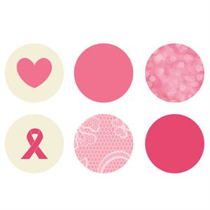 Picture of Breast Cancer Awareness Mini Locket Backdrops